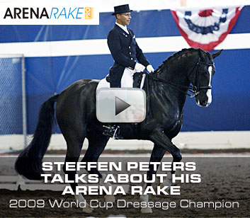 Steffen Peters uses Greystone Arena Rakes